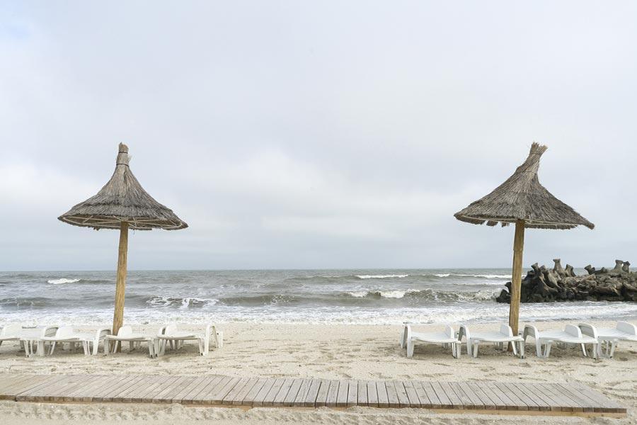 plaja Gura Portitei in Delta Dunarii